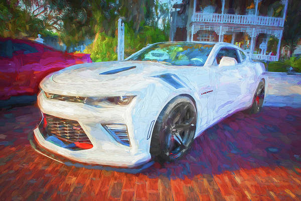 Wall Art - Photograph - 2017 Chevrolet Camaro Ss2 113 by Rich Franco