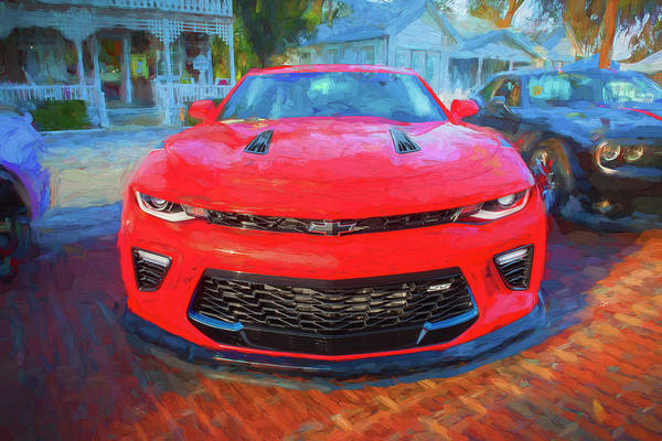 Wall Art - Photograph - 2017 Chevrolet Camaro Ss2 Coupe 104 by Rich Franco