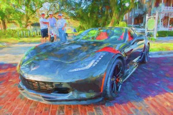 Photograph - 2017 Chevrolet Corvette Gran Sport 106 by Rich Franco