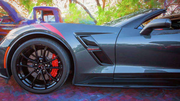 Wall Art - Photograph - 2017 Chevrolet Corvette Gran Sport 118 by Rich Franco