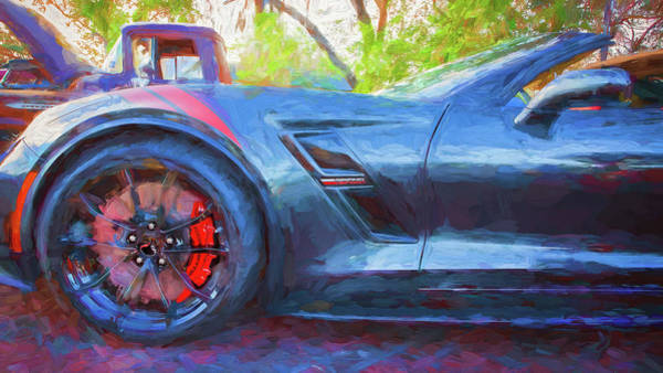 Wall Art - Photograph - 2017 Chevrolet Corvette Gran Sport 119 by Rich Franco