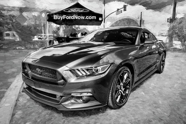 Photograph - 2017 Ford Mustang 5.0 102 by Rich Franco