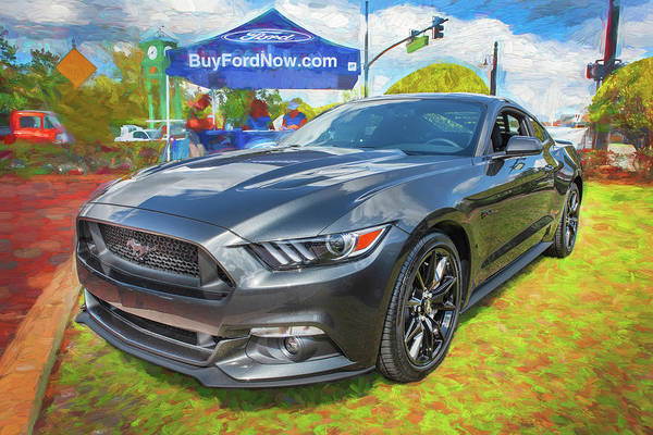 Photograph - 2017 Ford Mustang 5.0 103 by Rich Franco
