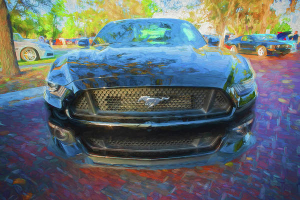 Photograph - 2017 Ford Mustang 5.0 105 by Rich Franco