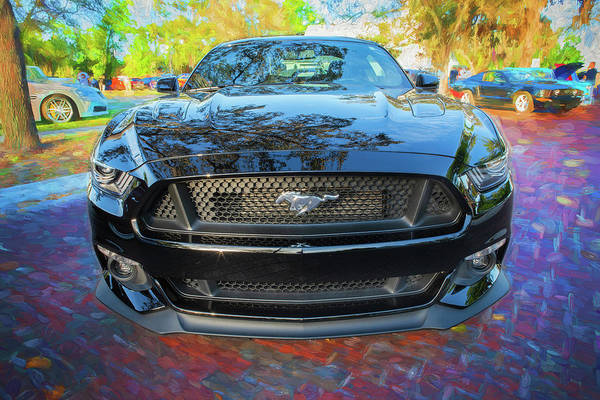 Wall Art - Photograph - 2017 Ford Mustang 5.0 107 by Rich Franco