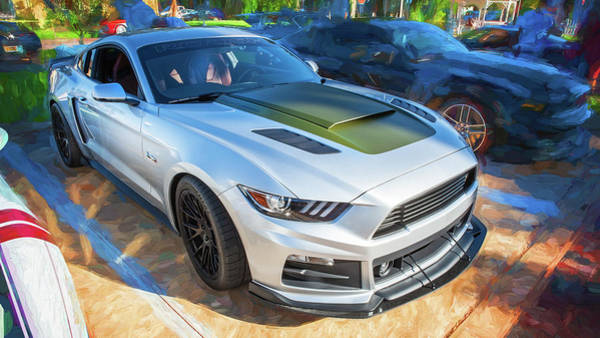 Photograph - 2017 Ford Mustang Gt P-51 Roush 15b by Rich Franco