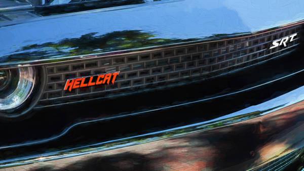 Photograph - 2018 Dodge Challenger Srt Hellcat 003 by Rich Franco