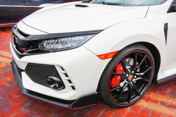 Photograph - 2018 Honda Type R 101 by Rich Franco
