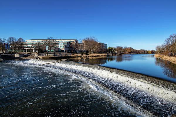 Photograph - 2019-005/365 Barstow Street Dam by Randy Scherkenbach