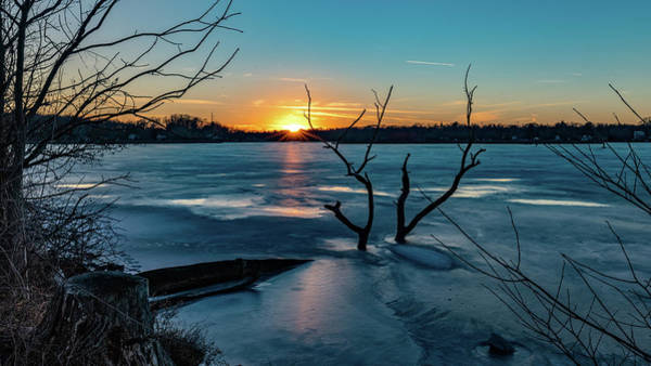 Photograph - 2019-012/365 January Sunset by Randy Scherkenbach