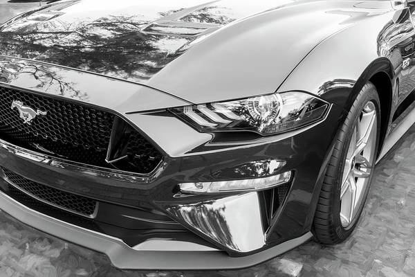 Photograph - 2019 Ford Mustang Gt 5.0 006 by Rich Franco