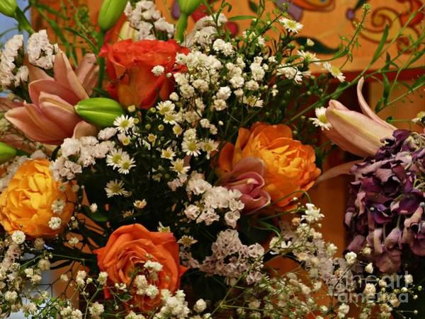 Wall Art - Photograph - 2019 Holy Week Flowers 1   by Sarah Loft