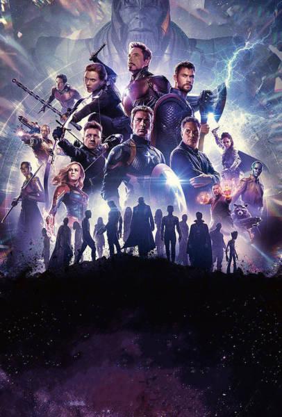 Wall Art - Digital Art - Avengers Endgame by Geek N Rock