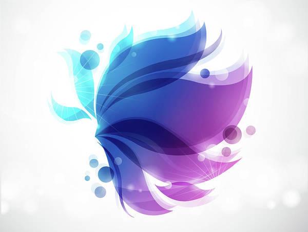 Cut-out Digital Art - Close-up Of Design by Eastnine Inc.