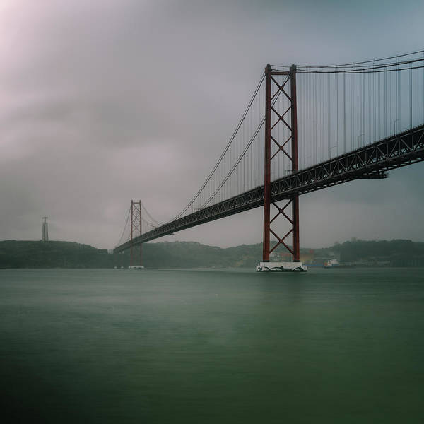 Photograph - 25 April Bridge, Lisbon, Portugal by Alexandre Rotenberg