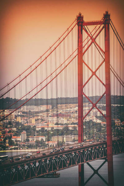 Wall Art - Photograph - 25th April Bridge Lisbon Portugal by Carol Japp