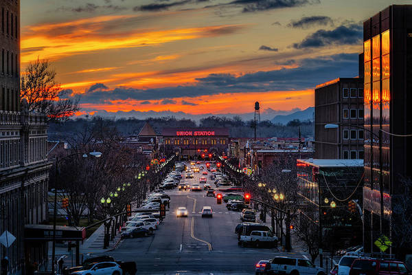 Photograph - 25th Street Ogden Utah by Michael Ash