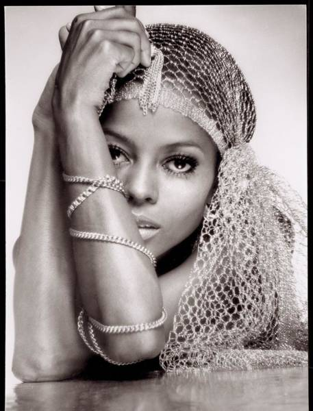 Wall Art - Photograph - Diana Ross Portrait Session by Harry Langdon