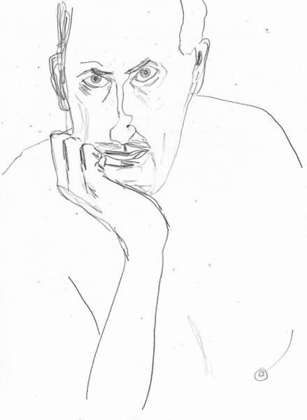 Drawing - Self by Artist Dot