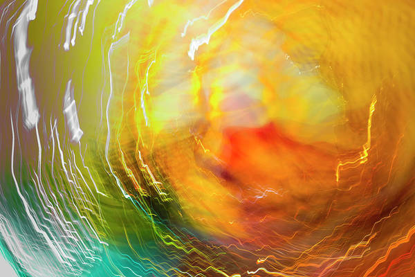 Wall Art - Photograph - Colorful Glass With Blurred Motion by Stuart Westmorland