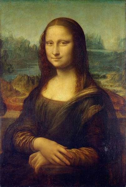 Wall Art - Painting - Mona Lisa by Leonardo Da Vinci