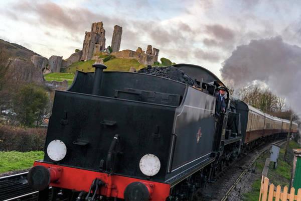 Railway Station Photograph - Corfe Castle - England by Joana Kruse