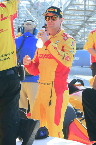 Autosport Wall Art - Photograph - #28 Ryan Hunter-reay by Shoal Hollingsworth