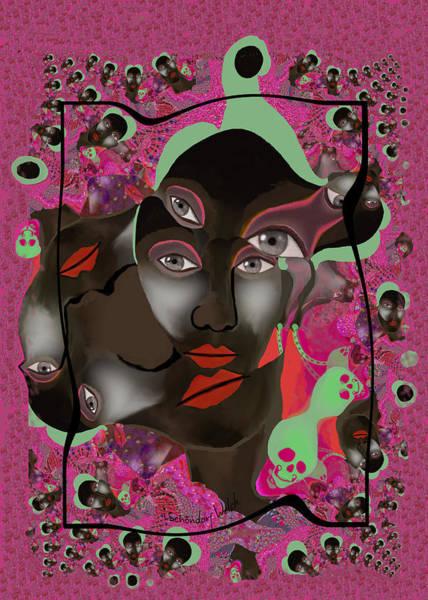 Wall Art - Digital Art - 2823 Call Of The  Wild Fractal   by Irmgard Schoendorf Welch