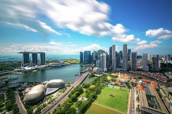 Wall Art - Photograph - Singapore City by Anek Suwannaphoom