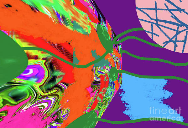 Digital Art - 3-23-2012dab by Walter Paul Bebirian