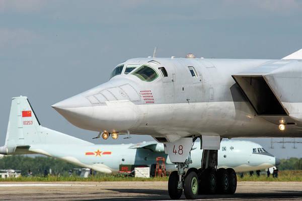 Wall Art - Photograph - A Russian Aerospace Forces Tu-22m-3 by Daniele Faccioli