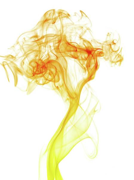 Photograph - Abstract Smoke by Yai112