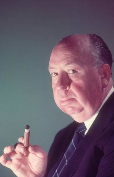 Photograph - Alfred Hitchcock by Baron
