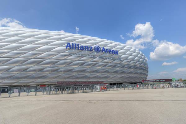 Wall Art - Photograph - Allianz Arena Munich  by David Pyatt