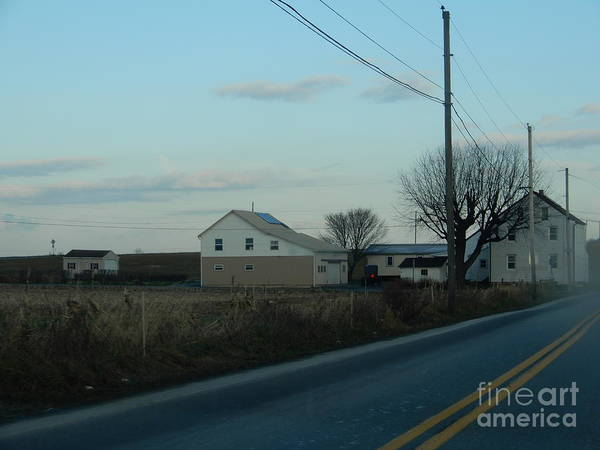 Photograph - An Amish Farm by Christine Clark