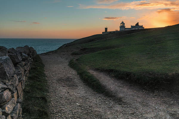 Anvil Photograph - Anvil Point - England by Joana Kruse