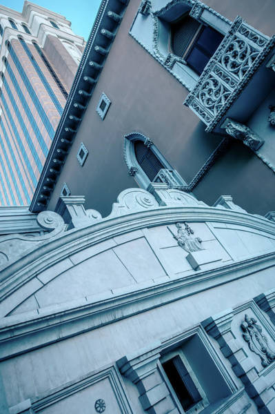 Photograph - Architectural Details In Luxurious Hotels In Las Vegas Nevada by Alex Grichenko