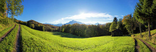 Wall Art - Photograph - Austria, Salzburger Land, View From by Franz Pritz
