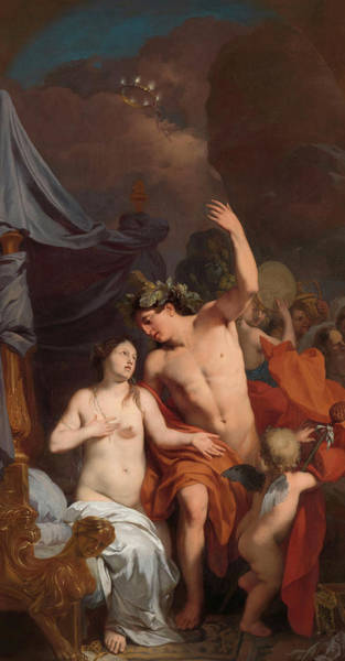 Wall Art - Painting - Bacchus And Ariadne by Gerard de Lairesse