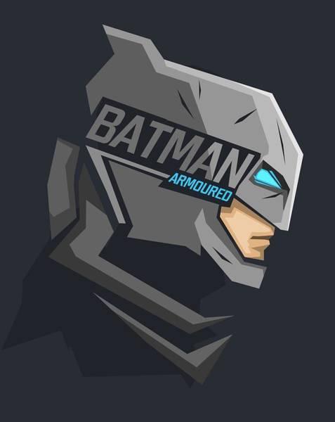 Robin Digital Art - Batman  by Geek N Rock