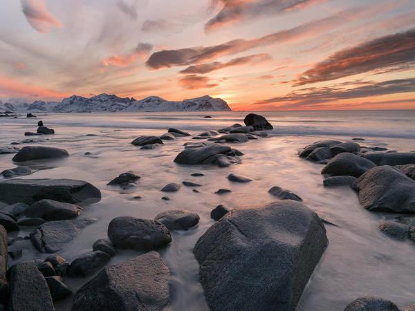 Wall Art - Photograph - Beach Near Vikten On The Island by Martin Zwick