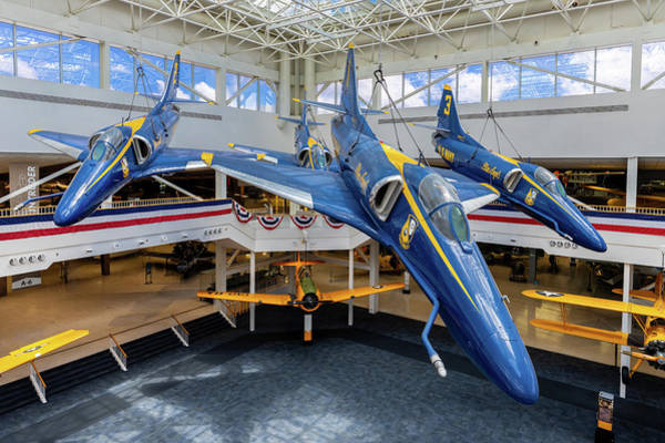 Photograph - Blue Angels by Tim Stanley