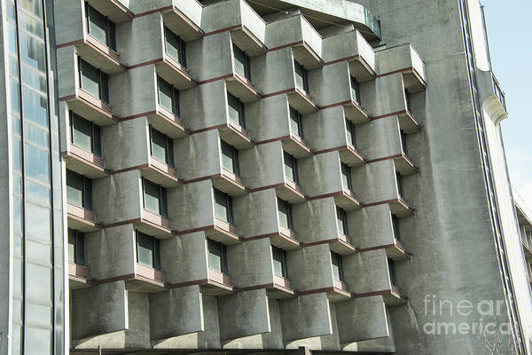 Photograph - Brutalist Architecture by Juli Scalzi