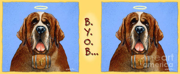 Painting - B.y.o.b... by Will Bullas