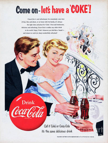 Wall Art - Photograph - Coca-cola by Picture Post