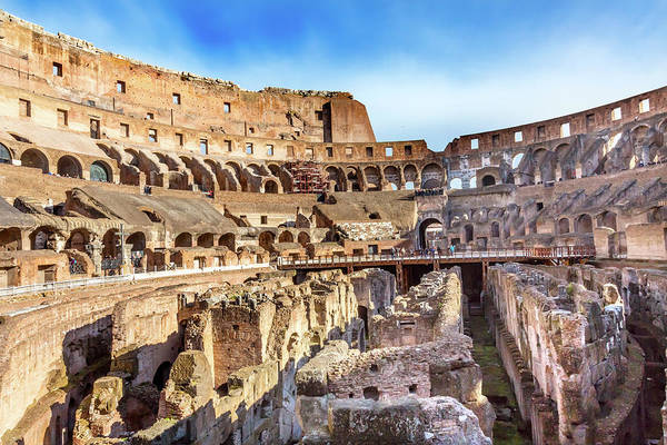 Wall Art - Photograph - Colosseum, Rome, Italy by William Perry