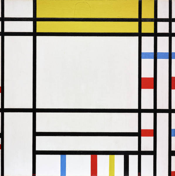 Non Representational Painting - Composition by Piet Mondrian