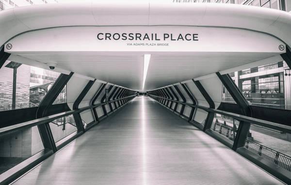 Wall Art - Photograph - Crossrail Place by Martin Newman