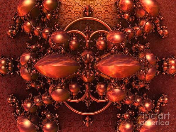Wall Art - Digital Art - 3-d Fractal Jewels by Lyle Hatch