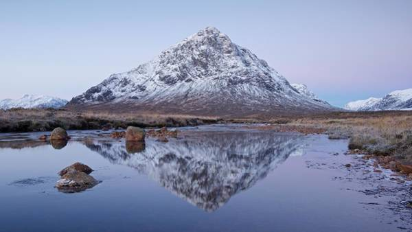 Photograph - Dawn In Glencoe by Stephen Taylor